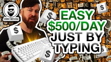 How To Make $500 A Day (PayPal Money) With Just Your Keyboard