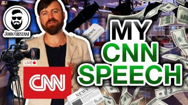 John Crestani Speaks At CNN (You Need To Hear This)